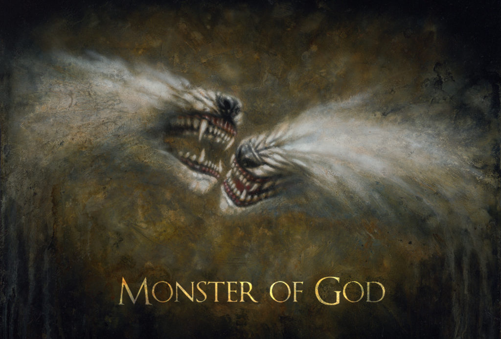 Monster of God art show